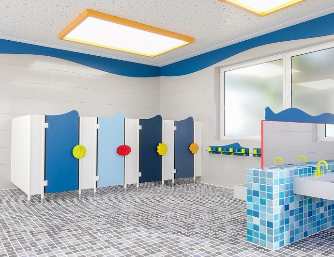 Cubicles / interior for kindergartens