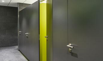 WC-Trennwände › Schäfer Trennwandsysteme
